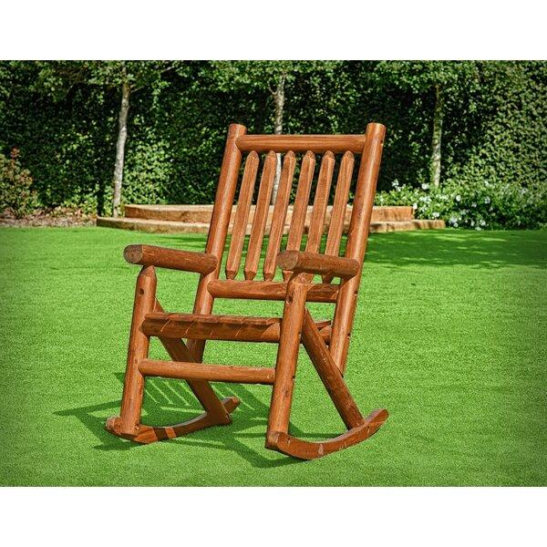Plinio Single Porch Rocking Chair by Charlton Home