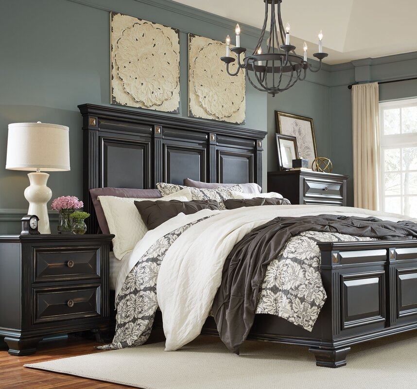Interior Bedroom Sets Pictures bedroom sets birch lane petronella panel configurable set