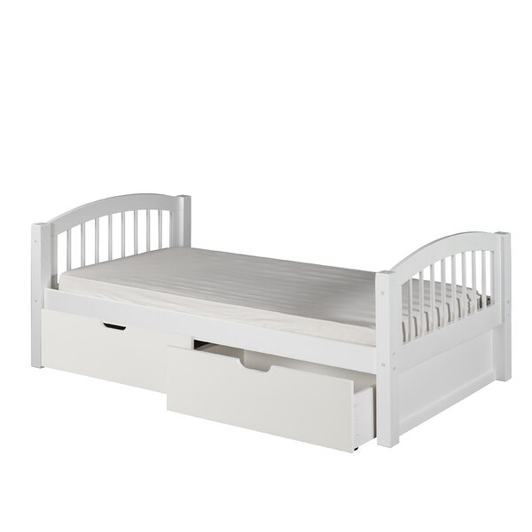 Isabelle Twin Platform Bed with Drawers by Viv + Rae