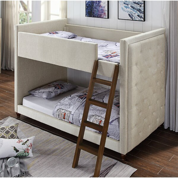 Coelho Twin over Twin Bunk Bed by Harriet Bee