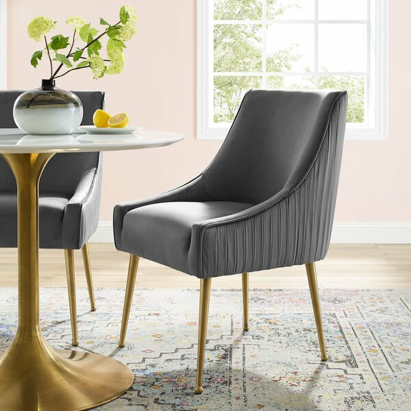 Vella Upholstered Dining Chair by Mercer41