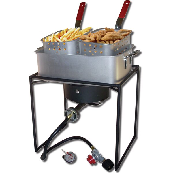 Rectangular Welded Fish Fryer by King Kooker