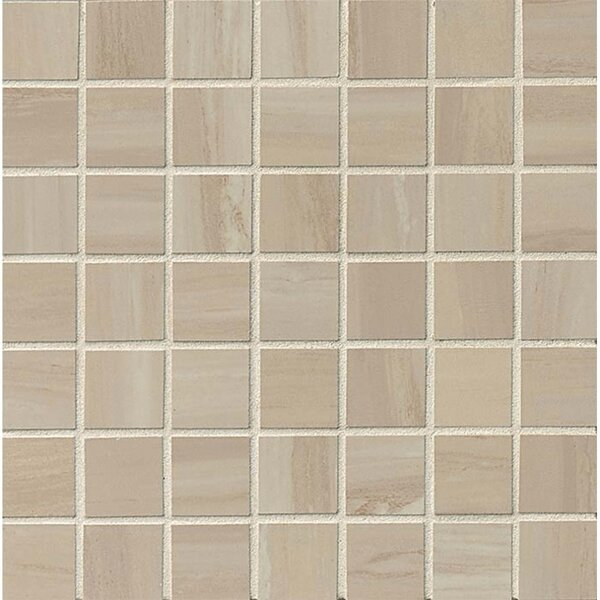 Laguna 1.5 x 1.5 Porcelain Mosaic Tile in Del Mar Polished by Grayson Martin
