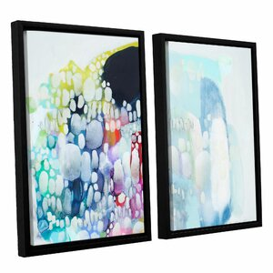 Dream of Warmth 2 Piece Framed Painting Print Set by Latitude Run