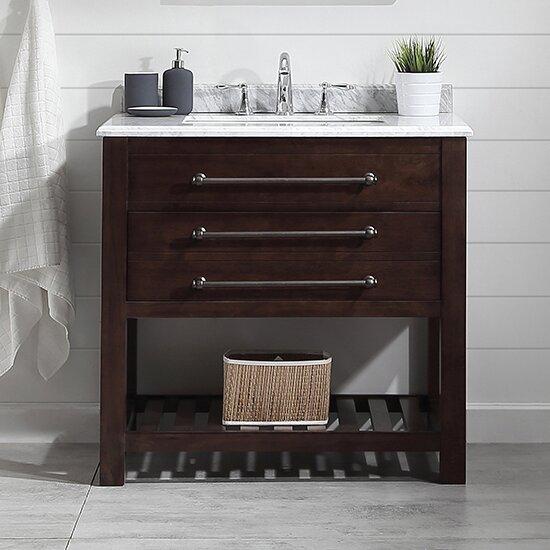 Harry 36 Single Bathroom Vanity Set by Ove DecorsHarry 36 Single Bathroom Vanity Set by Ove Decors
