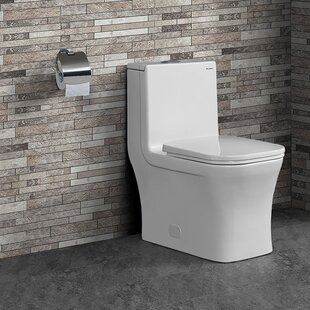 Concorde® Dual-Flush Square One-Piece Toilet (Seat Included)