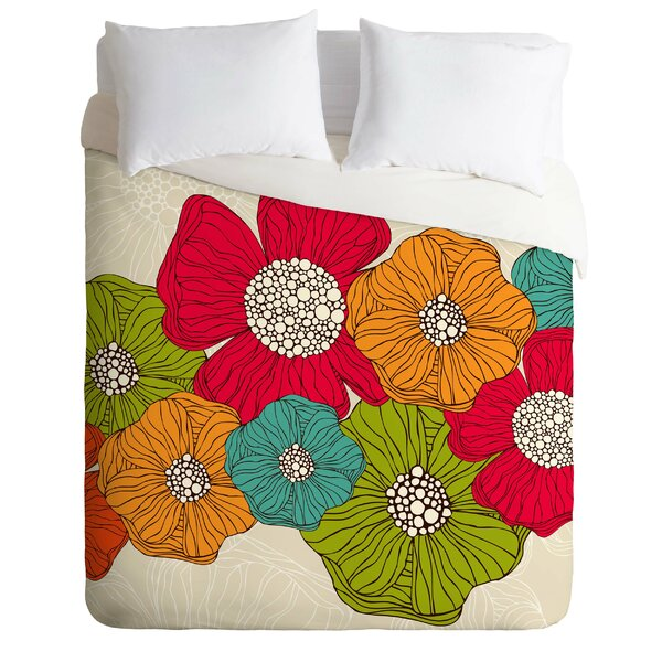 Flowers Duvet Cover Set by East Urban Home