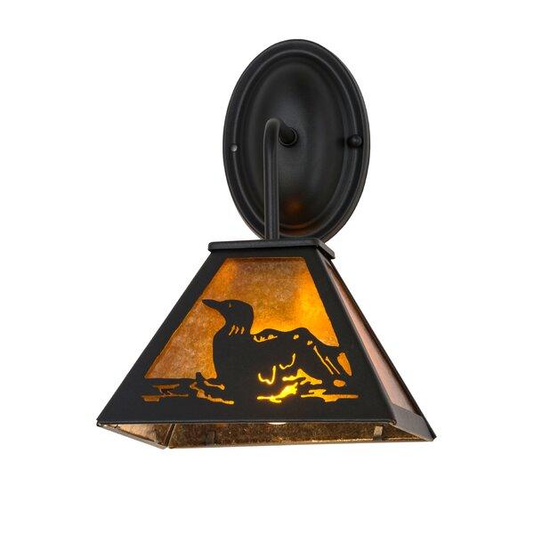 Wyble Loon Outdoor Wall Lantern by Loon Peak