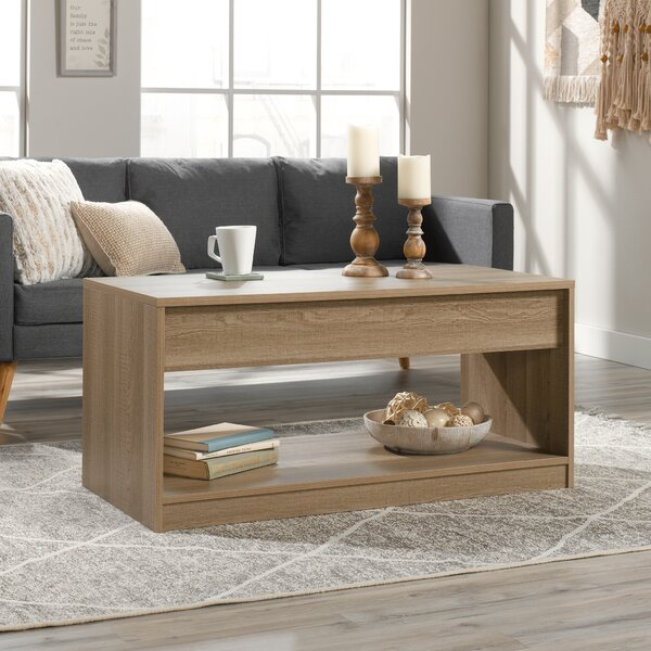 Malthe Lift Top Block Coffee Table With Storage By Ebern Designs