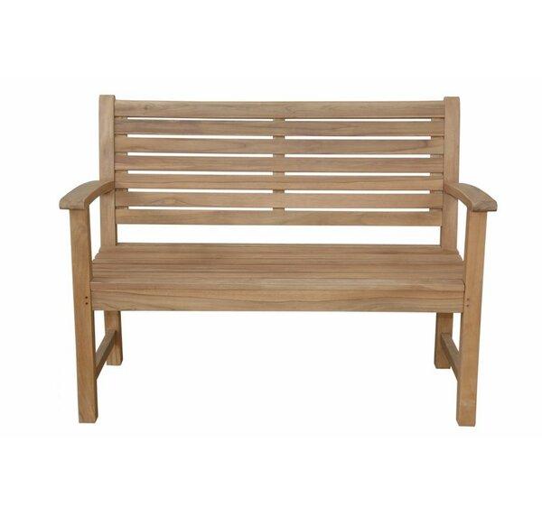 Victoria 2-Seater Teak Garden Bench by Anderson Teak