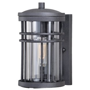Herrin 1-Light Outdoor Flush Mount By Brayden Studio Outdoor Lighting