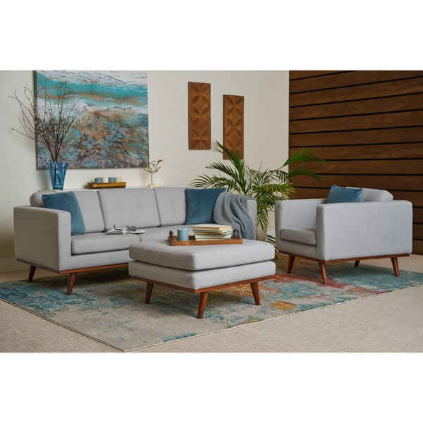 Eye 3 Piece Living Room Set by George Oliver