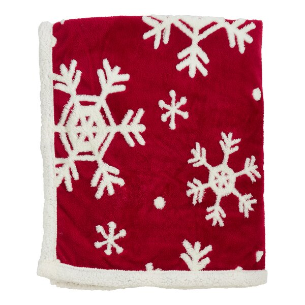 Thorp Snowflake Throw by The Holiday Aisle