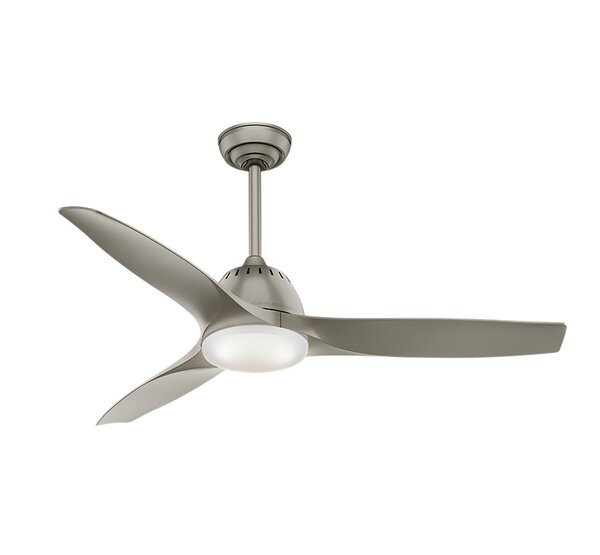 52 Wisp 3 Blade LED Ceiling Fan with Remote by Casablanca Fan