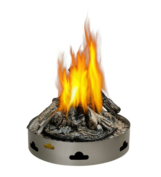 PatioFlame Stainless Steel Propane/Natural Gas Fire Ring by Napoleon