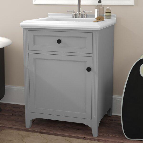 Gerson 25 Single Bathroom Vanity Set by Three Post