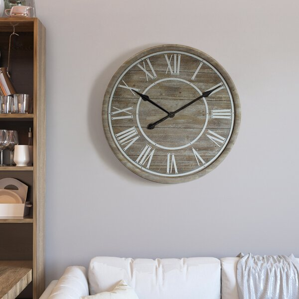 Oversized Horacia Rustic Age 31 Wall Clock by One Allium Way