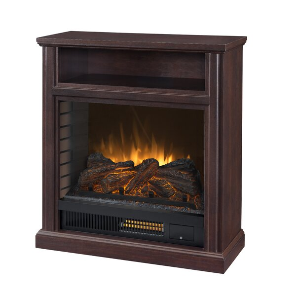 Pigott 30 Mobile Infrared Media Electric Fireplace By Charlton Home
