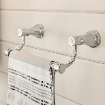 Belfield Bathroom 9 Wall Mounted Towel Bar by Moen