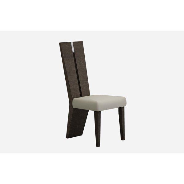 Lough Upholstered Slat back Dining Chair by Orren Ellis Orren Ellis