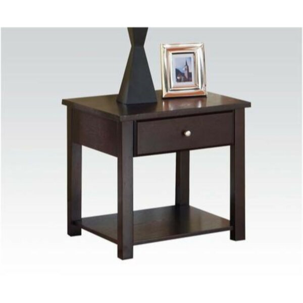 Ariella Wooden End Table by Alcott Hill