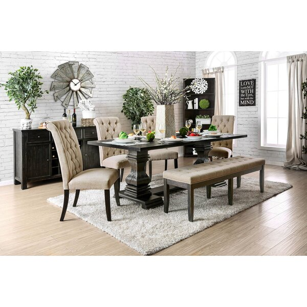 Chilcott 6 Piece Dining Set by Charlton Home Charlton Home