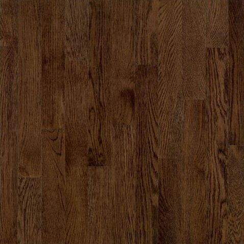 5 Solid Red Oak Hardwood Flooring in Mocha by Bruce Flooring