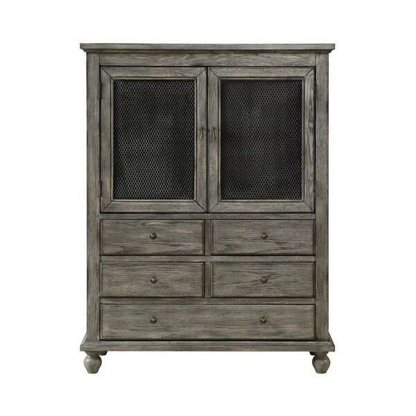 Fulmer 2 Door 5 Drawer Accent Cabinet by Highland Dunes