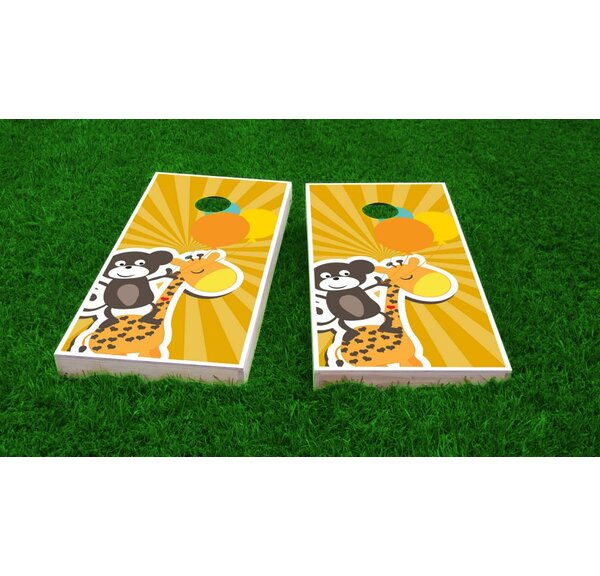 Kids Theme Light Weight Cornhole Game Set by Custom Cornhole Boards