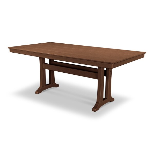 Farmhouse Plastic Dining Table by POLYWOOD®