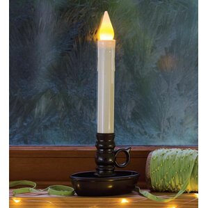 cordless battery window unscented flameless candle with timer - Christmas Candle Lights For Windows