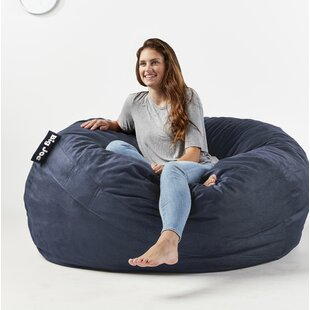 Surprising Fuf Big Joe King Bean Bag Chair Unemploymentrelief Wooden Chair Designs For Living Room Unemploymentrelieforg