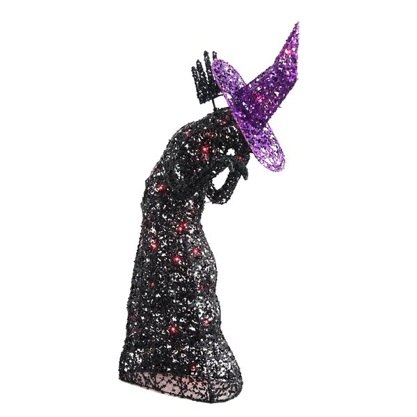 Lighted Wire Witch Halloween Decoration by Jeco Inc.