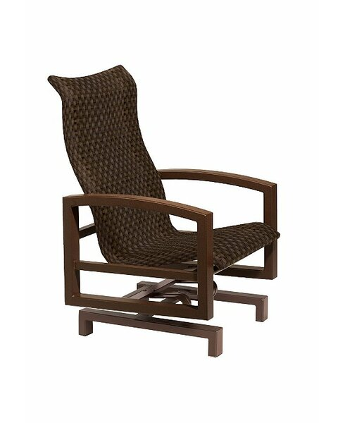 Lakeside Woven Action Lounge Chair by Tropitone