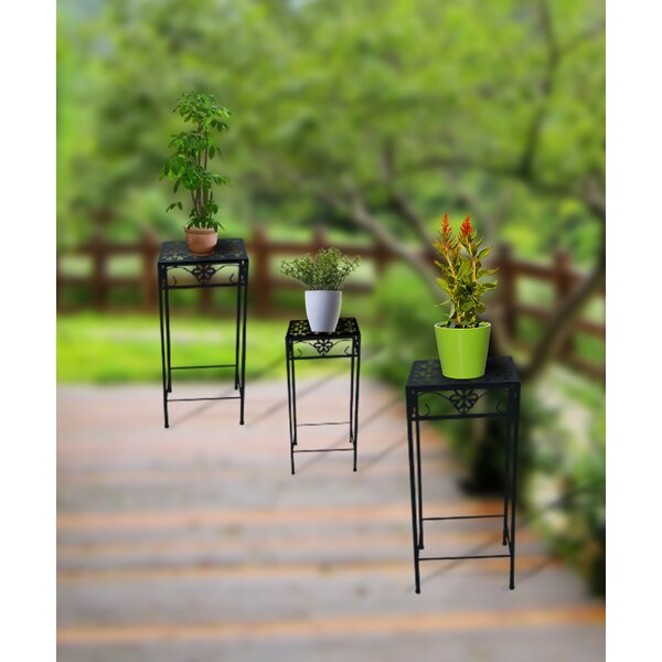 Goodfellow 3 Piece Plant Stand Set by Red Barrel Studio