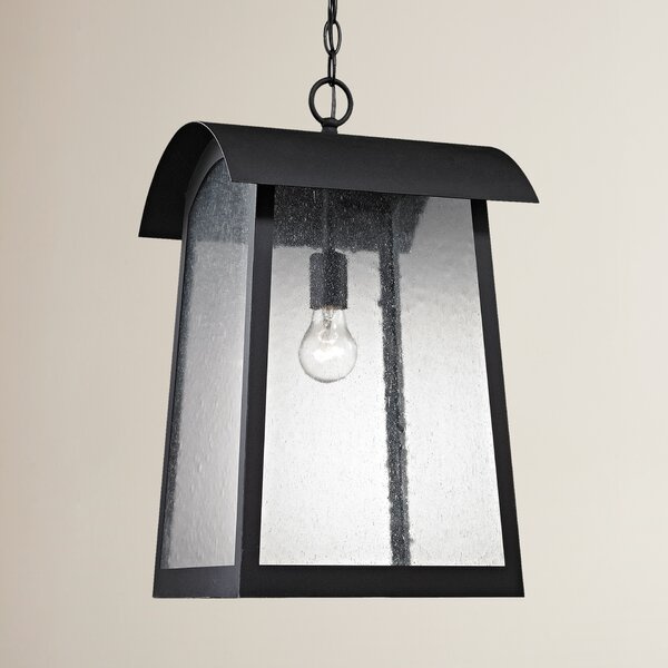 Myrtle Avenue 1-Light Outdoor Hanging Lantern by Brayden Studio