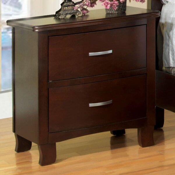 Vandenberg 2 Drawer Nightstand by Hokku Designs