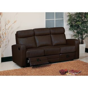 Leather Leather Reclining Sofa