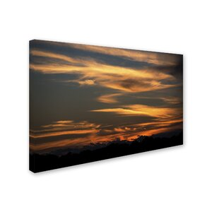'Sunset of my Dreams' Photographic Print on Wrapped Canvas by Trademark Fine Art
