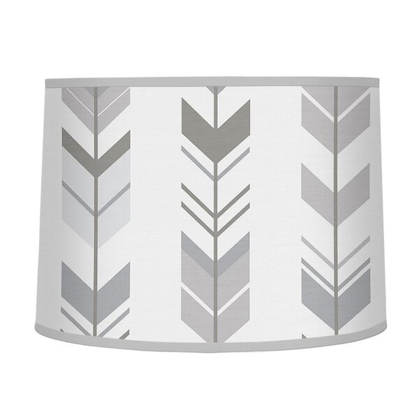 Mod Arrow 10 Fabric Drum Lamp Shade by Sweet Jojo Designs
