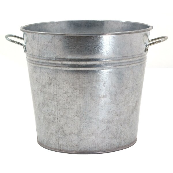 Galvanized Metal Planter by Houston International