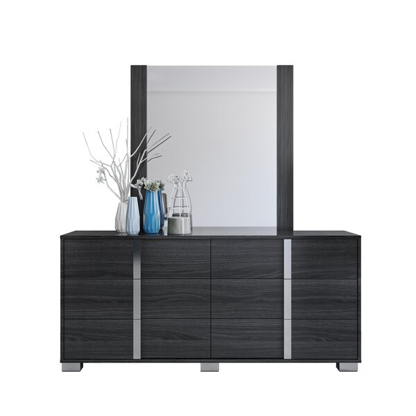 Gower 6 Drawer Double Dresser by Orren Ellis