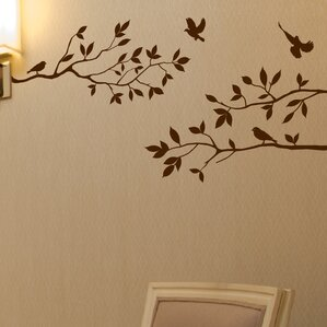 Trees And Flower Wall Decals Youll Love Wayfair - Wall decals of trees