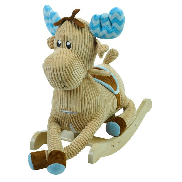 Critters Moose Rocker by Rockabye