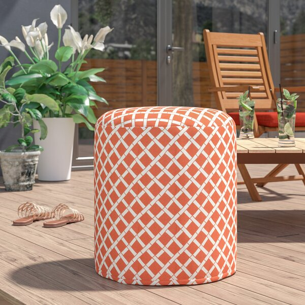 Gilbertown Small Outdoor Ottoman by Ebern Designs
