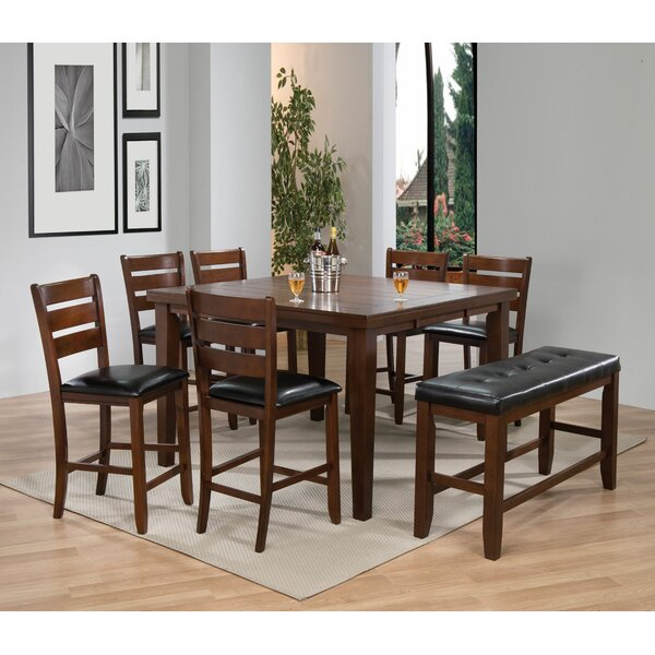 Lowndesboro 8 Piece Pub Table Set by Red Barrel Studio Red Barrel Studio