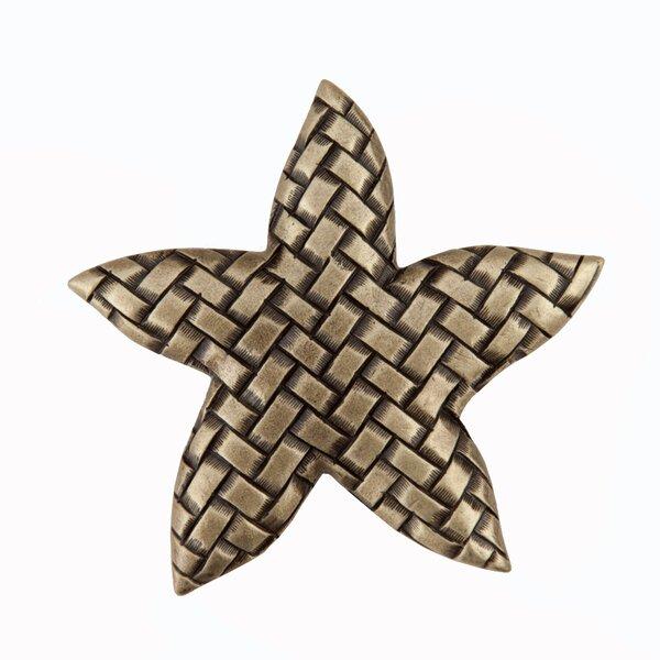 Woven Star Novelty Knob by Acorn