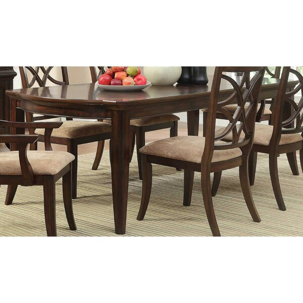 Clairsville Contemporary Style Wooden Dining Table by Canora Grey