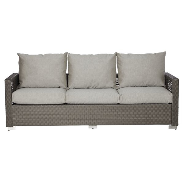 Mcmanis Patio Sofa with Cushions by Ivy Bronx