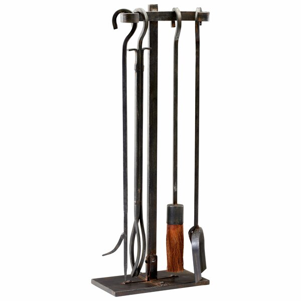 Lincoln Hearth 4 Piece Iron Tool Set by Cyan Design